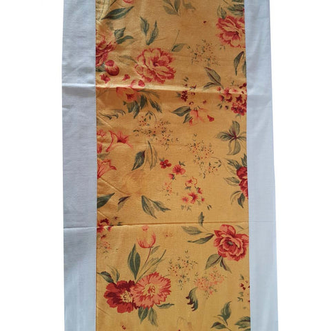 Yellow Floral Table Runner - The Chic Pad - 1