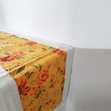 Yellow Floral Table Runner - The Chic Pad - 2