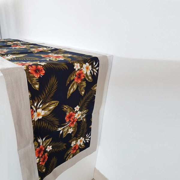 Tropical Floral Table Runner - The Chic Pad - 1