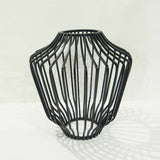 Black Wire Vase - The Chic Pad - 2