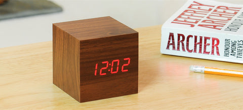 Cube Desk Clock - The Chic Pad