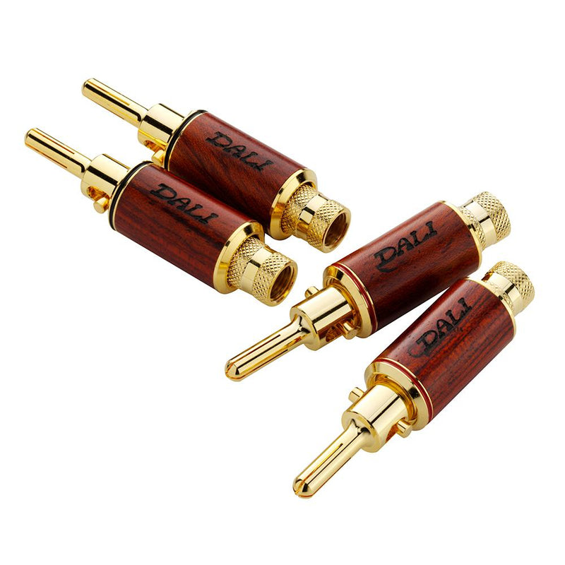 DALI banana plugs (with box)