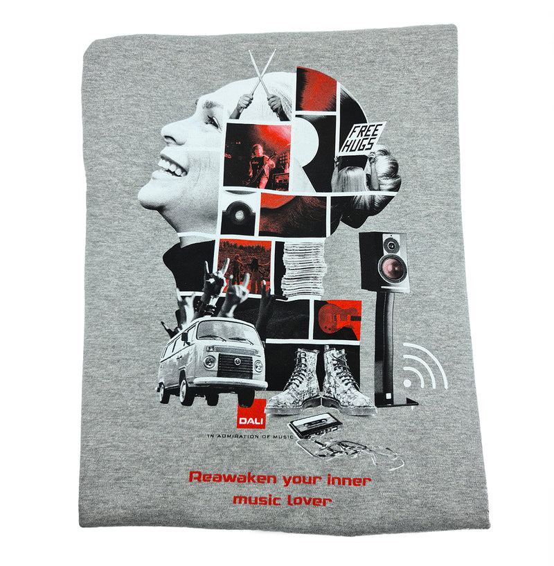 """Music Lover"" T-shirt - [Men]"