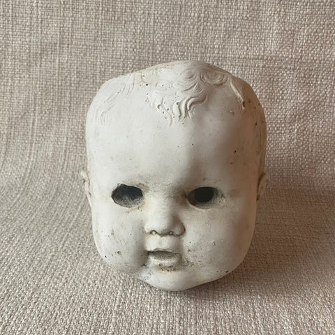 Concrete - Doll Head Planter