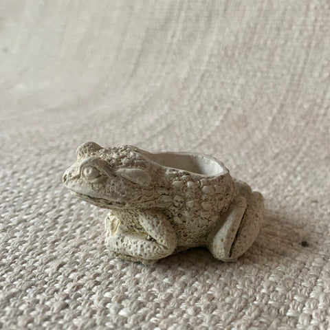 Concrete - Miniature Frog Planter