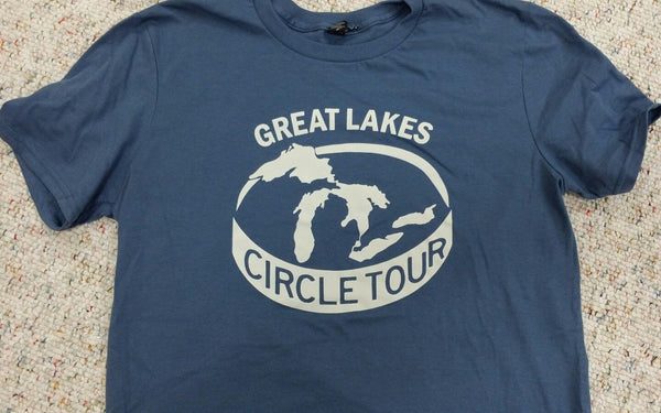 Great Lakes Circle Tour Michigan T-shirt