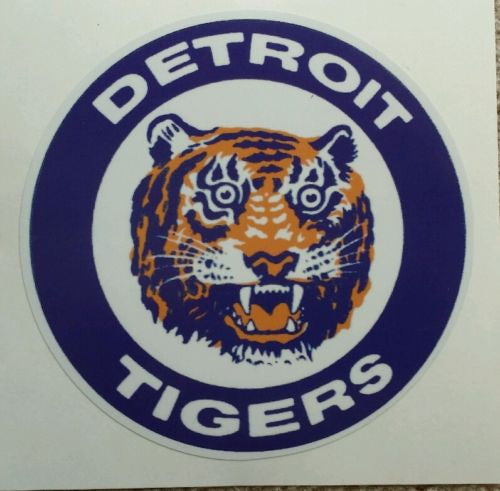 Detroit Tigers Vintage Logo Vinyl Car Truck Window Decal Sticker