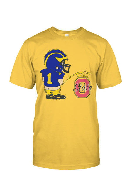 MICHIGAN Pissing on Ohio State LIMITED EDITION T