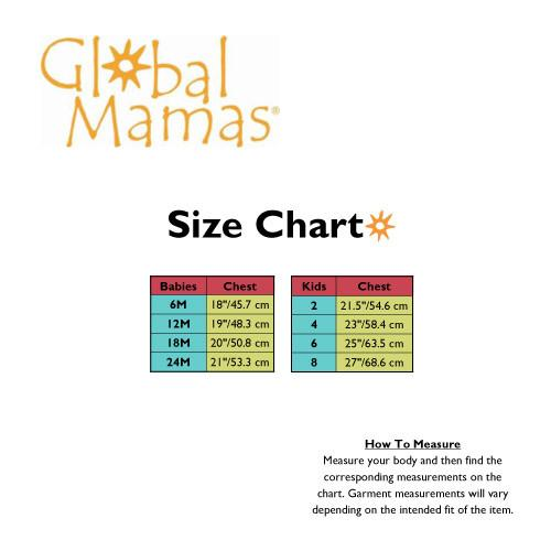Girls Sundress Bugs Red - Global Mamas (C)