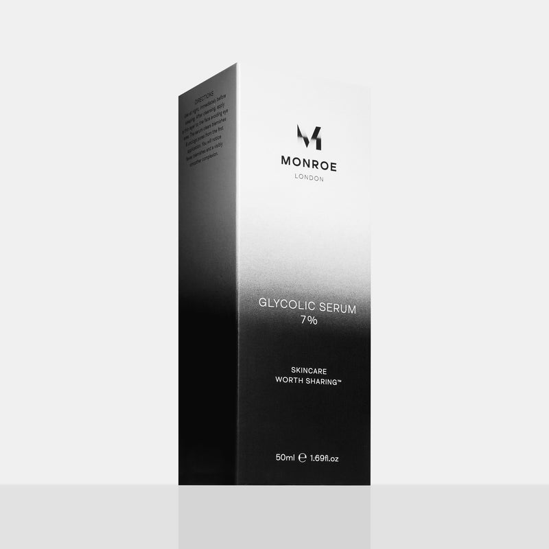 Monroe Glycolic Serum 7% 50ml Carton