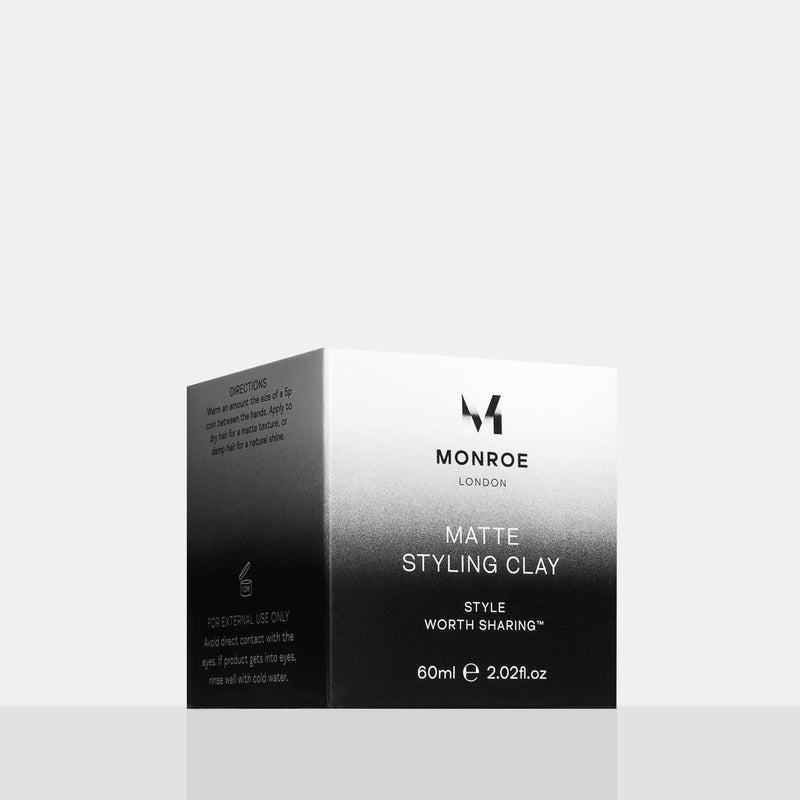 Monroe Matte Styling Clay 60ml Carton