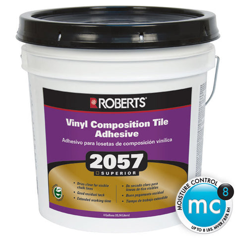 Roberts 2057 Vinyl Composition Tile Adhesive - 1 gal