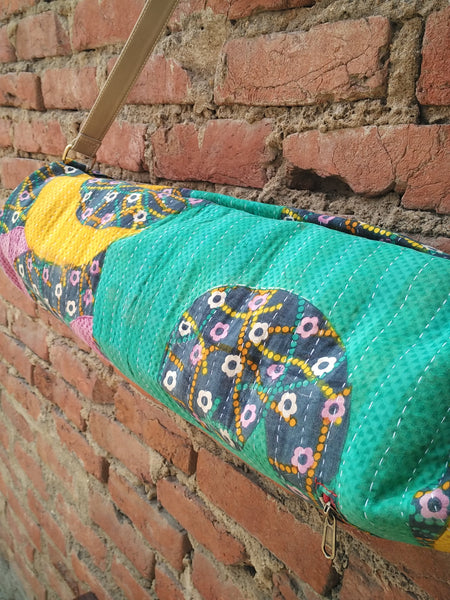 Yoga Mat Kantha bag