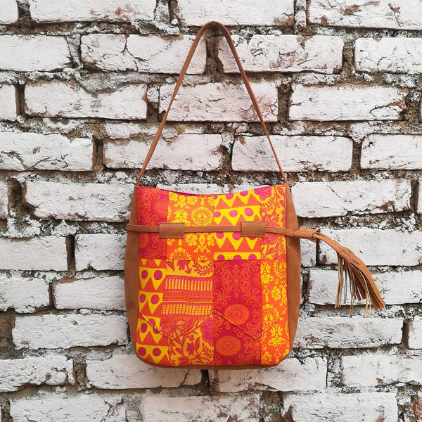 Sunshine Broom Shoulder Bag