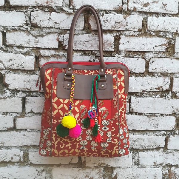 Kalamkari Shoulder Bag