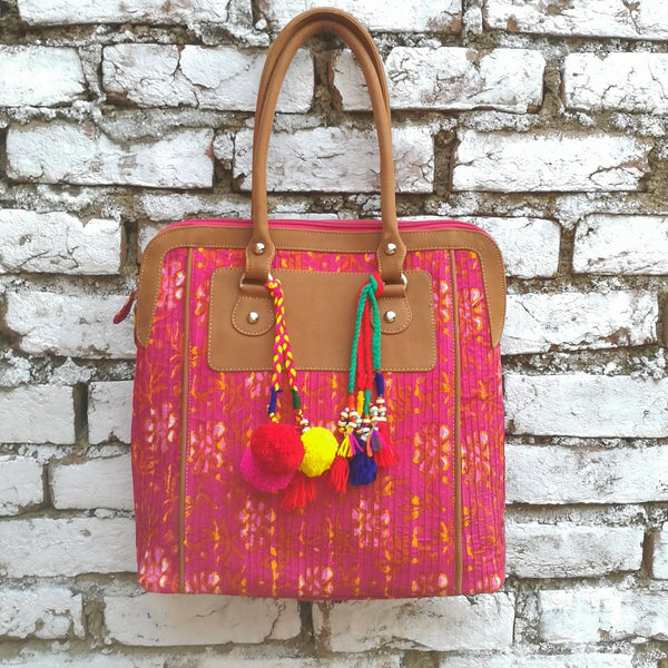 Fuchsia Shoulder Bag