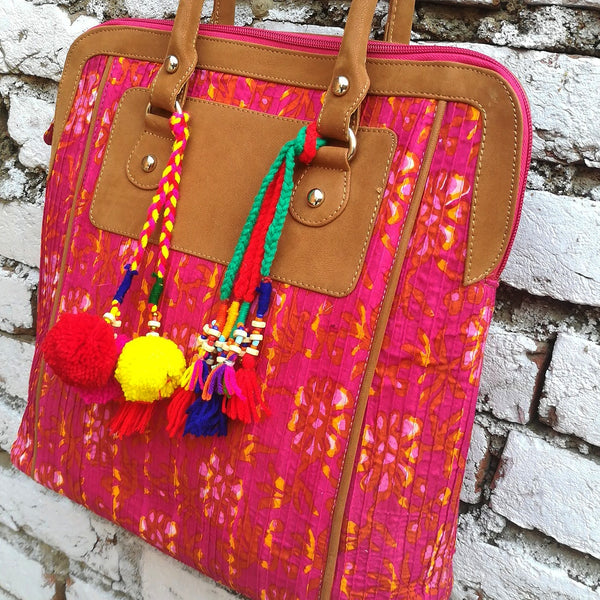 Fuschia Shoulder Bag
