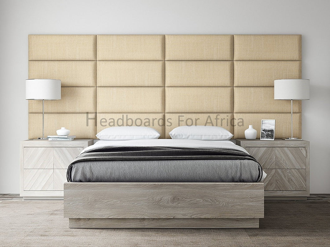16 Rectangular Panels - Headboards For Africa