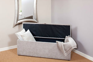Storage Bench Ottoman - Matthew - Headboards For Africa