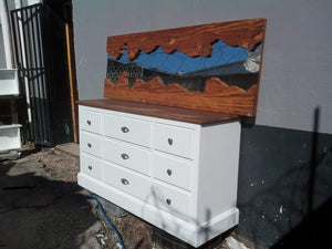 Provincial Style Wooden Chest - Headboards For Africa