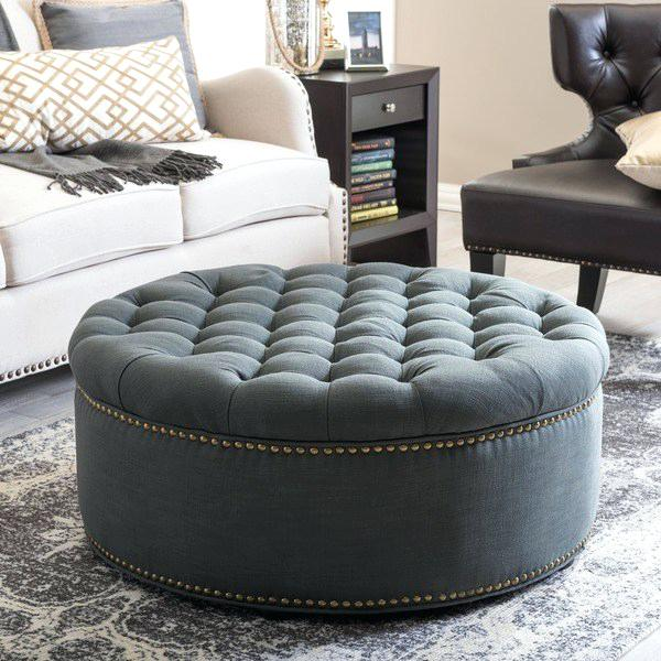 Introducing....Kelvin Round Ottoman - Headboards For Africa