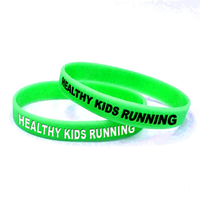 Children's Silicone Bracelets (Qty 300 minimum)