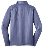 Men's Sport-Tek® Sport-Wick® Stretch 1/2-Zip Pullover - True Navy Heather