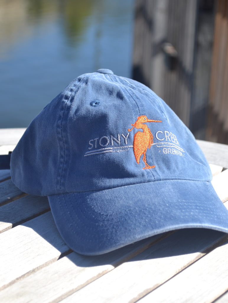 Steel Blue Twill Low Profile Cap