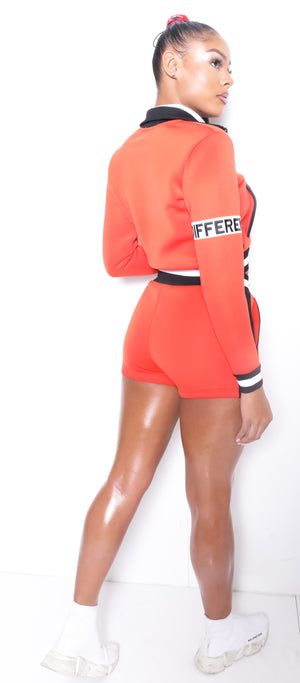 Women SP Tangerine Neoprene Summer Full Set