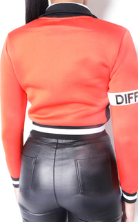 Women Collar'd  SP Neoprene Tango Sweat TOP