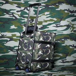 GREEN STRAPPED TROTU BAG