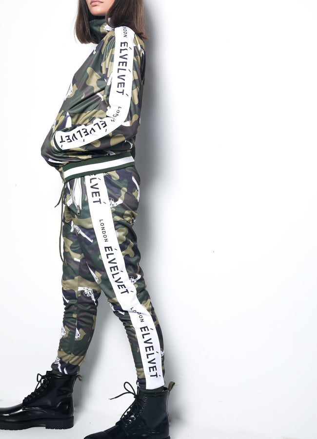 "W/GREEN STRAPPED Represent LONDON."" PANTS"