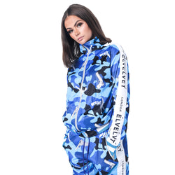 "W/BLUE STRAPPED Represent LONDON."" TRACKTOP"