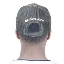 M/GREEN STRAPPED BASECAP