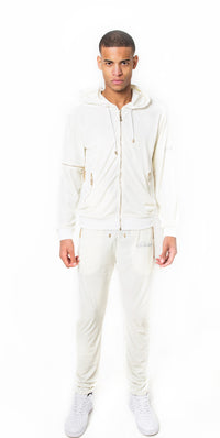Limited edition Ivory Vélvét Full Tracksuit