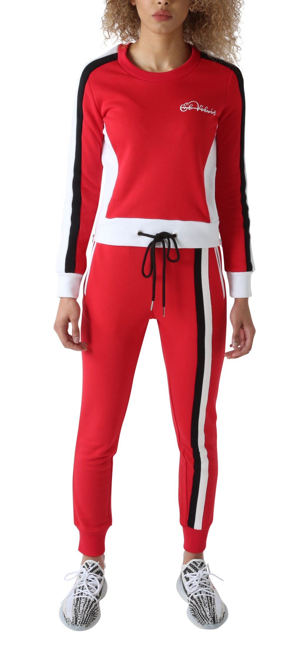 Red Triple Arena Tracksuit