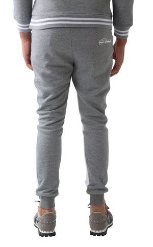 Grey Doubled Vinyl Tacksuit