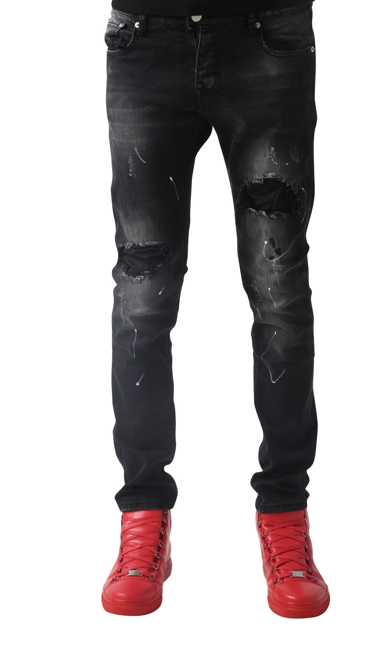Orbit splat jeans