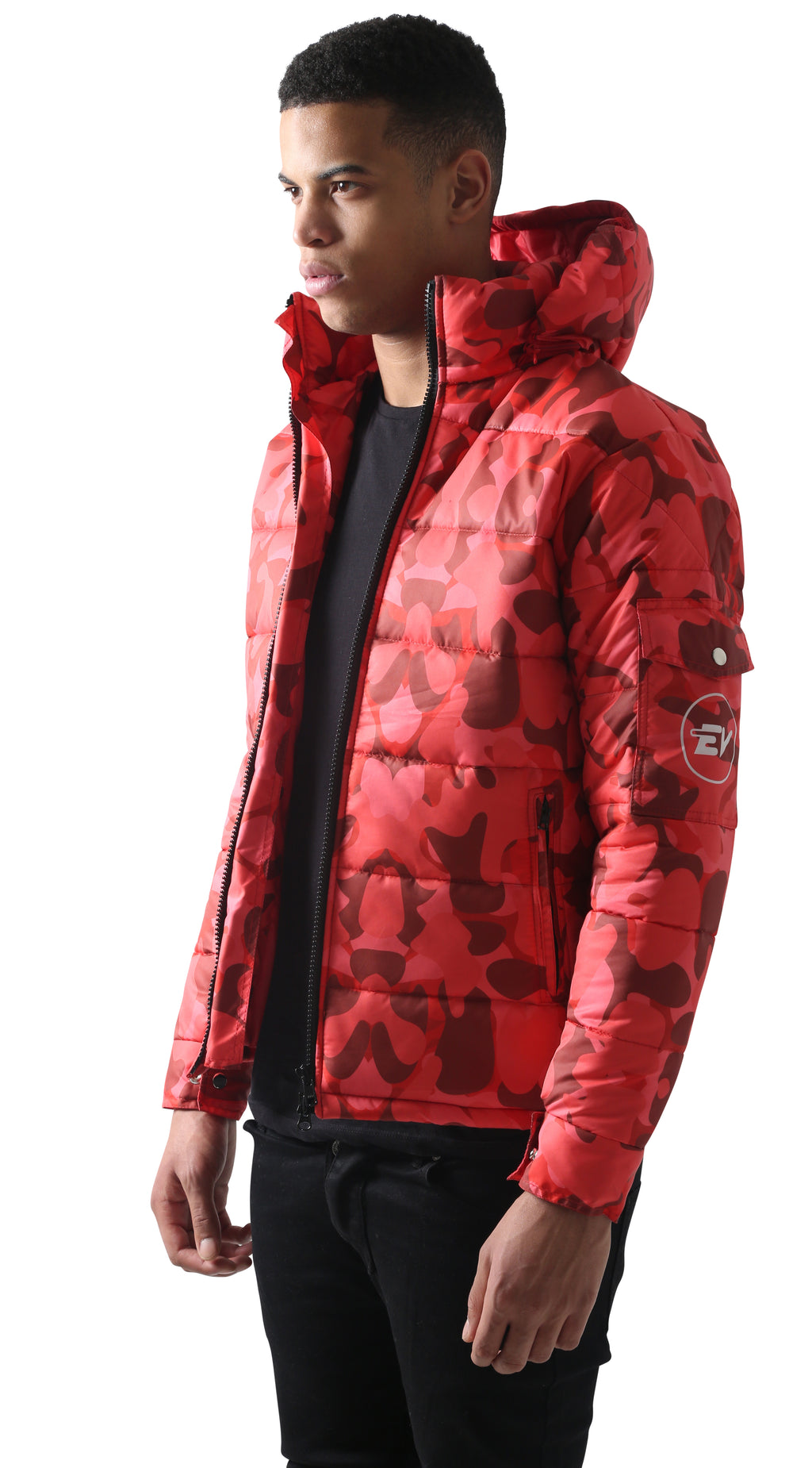 Red RO Splatter Camouflage Jacket