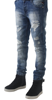 Blue Bear tears Jeans