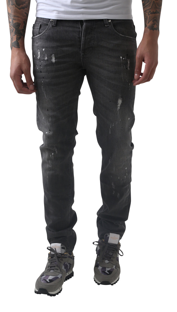 Grey Slime Jeans