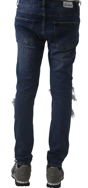 Mad Distressed Blue Jeans