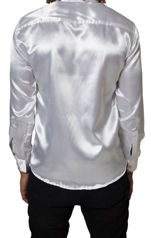 White Silk El Vélvét Shirt