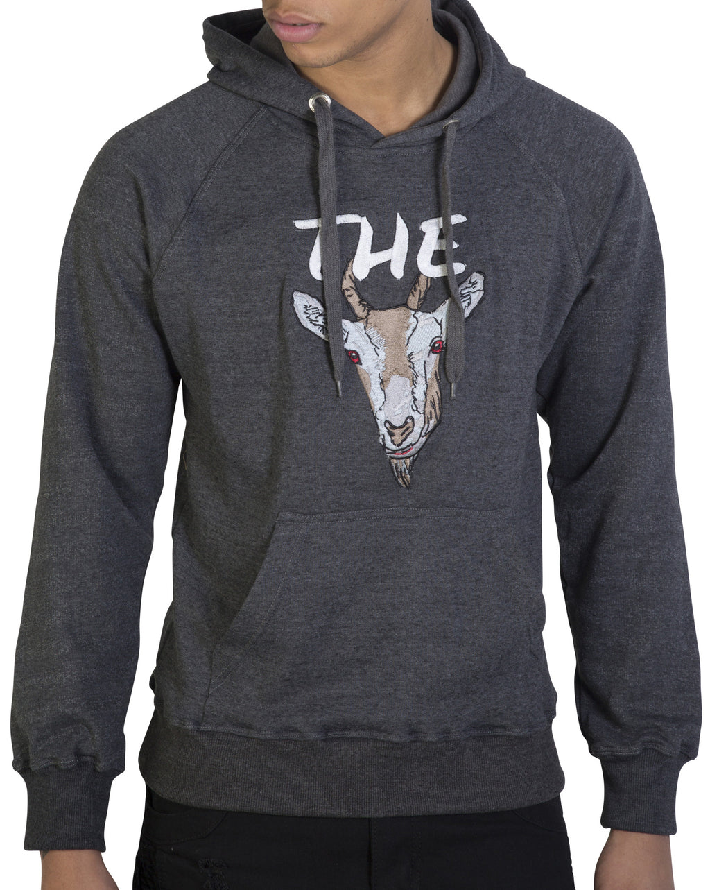 Dark Grey 'The GOAT' Hoody - Greatest Of all Time