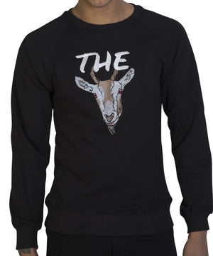 Black 'The GOAT' sweatshirt - Greatest Of all Time
