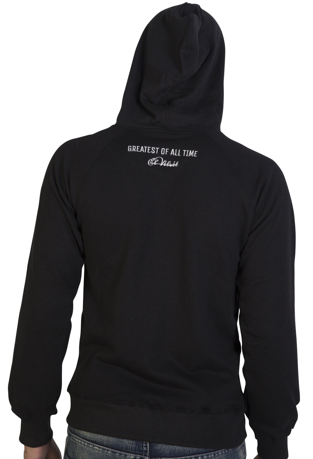 Black 'The GOAT' Hoody - Greatest Of all Time