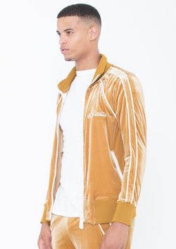 Collar Sweat Top Lined LON GOLD