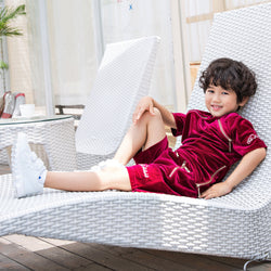 PRE-ORDER Kids Burgundy Summer Full Set