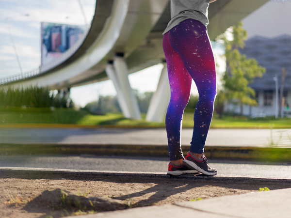 Pandora's Cluster Yoga Leggings (EcoPoly Fabric)