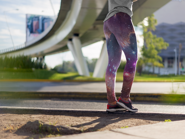 Magellanic Cloud Yoga Leggings (EcoPoly Fabric)